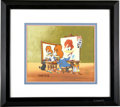 Animation Art, Woody's Triple Self Portrait Limited Edition Hand Painted CelArtist's Proof #25/200 Original Art (MCA/Universal, 1992). Thi...