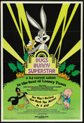 "Movie Posters:Animated, Bugs Bunny Superstar (Hare-Raising Films, 1976). One Sheet (25"" X36"") One Sheet (25"" X 36""). Animation Documentary. Directe..."