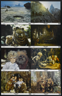 """Caravan of Courage (20th Century Fox, 1984). Lobby Card Set of 8 (11"""" X 14""""). Science Fiction. Directed by Joh..."""