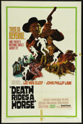 "Movie Posters:Western, Death Rides a Horse (United Artists, 1968). One Sheet (27"" X 41"").Western. Directed by Giulio Petroni. Starring Lee Van Cle..."