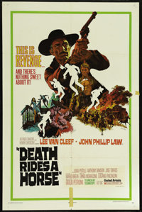 "Death Rides a Horse (United Artists, 1968). One Sheet (27"" X 41""). Western. Directed by Giulio Petroni. Starri..."