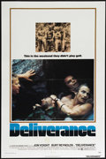 """Movie Posters:Action, Deliverance (Warner Brothers, 1972). One Sheet (27"""" X 41""""). Drama.Directed by John Boorman. Starring Ned Beatty, Burt Reyno..."""