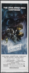 """Movie Posters:Science Fiction, The Empire Strikes Back (20th Century Fox, 1980). Insert (14"""" X36""""). Style A. Science Fiction. Directed by Irvin Kershner. ..."""