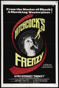 """Movie Posters:Hitchcock, Frenzy (Universal, 1972). One Sheet (27"""" X 41""""). Thriller. Directedby Alfred Hitchcock. Starring Jon Finch, Alec McCowen, B..."""