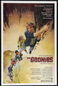 "Movie Posters:Adventure, Goonies (Warner Brothers, 1985). One Sheet (27"" X 41""). Adventure.Directed by Richard Donner. Starring Sean Astin, Josh Bro..."
