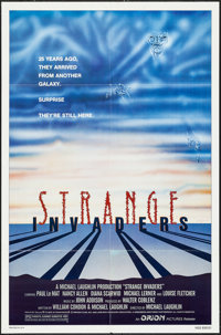 """Strange Invaders & Others Lot (Orion, 1983). One Sheets (4) (27"""" X 41""""). Science Fiction. ... (Total:..."""