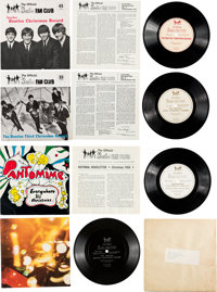 Beatles Official Fan Club Christmas Singles Collection (UK, 1960s)