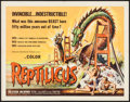 "Movie Posters:Science Fiction, Reptilicus (American International, 1961). Half Sheet (22"" X 28"").Science Fiction.. ..."