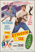 "Movie Posters:Rock and Roll, The In-Between Age (Allied Artists, 1958). One Sheet (27"" X 41"").Rock and Roll.. ..."
