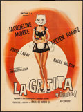 """Movie Posters:Foreign, La Gatita (Cinevision, 1972). Mexican One Sheet (27.25"""" X 37""""). Foreign.. ..."""