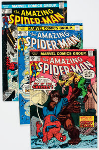 The Amazing Spider-Man Short Boxes Group (Marvel, 1970s-90s) Condition: Average VF.... (Total: 2 Items)