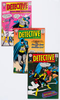 Silver Age (1956-1969):Superhero, Detective Comics Group of 39 (DC, 1964-81) Condition: Average FN-.... (Total: 39 Comic Books)