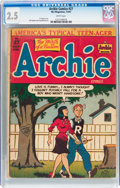 Golden Age (1938-1955):Humor, Archie Comics #27 (Archie, 1947) CGC GD+ 2.5 White pages....