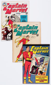 Captain Marvel Adventures Group of 8 Canadian Editions (Fawcett Publications, 1948-50).... (Total: 8 Comic Books)