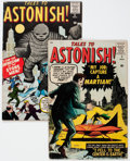 Golden Age (1938-1955):Horror, Tales to Astonish #2 and 6 Group (Marvel, 1959).... (Total: 2 ComicBooks)