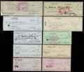 Baseball Collectibles:Others, Misc. Sports Greats Signed Checks Lot of 240+....