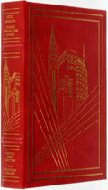 Books:Fine Bindings & Library Sets, Neil Simon. SIGNED. Three from the Stage. Franklin Center: The Franklin Library, 1995....