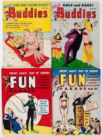 Harvey Miscellaneous Adult Comics Digest Long Box Group (Harvey, 1950s) Condition: Average FN/VF