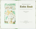 Books:Literature Pre-1900, David Gentleman, illustrations. SIGNED/LIMITED. Jim Lees, editor.The Ballads of Robin Hood. Cambridge: The Limi...