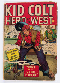 Kid Colt Outlaw #1 (Atlas/Marvel, 1948) Condition: GD-