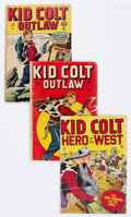 Golden Age (1938-1955):Western, Kid Colt Outlaw Group of 27 (Atlas/Marvel, 1948-) Condition:Average GD+.... (Total: 27 Comic Books)