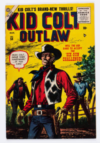 Kid Colt Outlaw #58 (Atlas/Marvel, 1956) Condition: VF