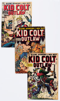 Kid Colt Outlaw Group of 23 (Atlas/Marvel, 1956-61) Condition: Average GD/VG.... (Total: 23 Comic Books)