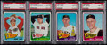 Baseball Cards:Lots, 1965 Topps Baseball PSA NM-MT 8 Graded Collection (75). ...