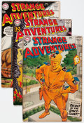 Silver Age (1956-1969):Science Fiction, Strange Adventures Group of 22 (DC, 1958-66) Condition: AverageVG.... (Total: 22 Comic Books)