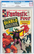 Silver Age (1956-1969):Superhero, Fantastic Four #30 (Marvel, 1964) CGC NM+ 9.6 White pages....