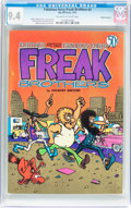 Bronze Age (1970-1979):Alternative/Underground, The Fabulous Furry Freak Brothers #2 Haight-Ashbury pedigree (Rip Off Press, 1972) CGC NM 9.4 Off-white to white pages....