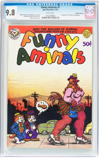 Funny Aminals #1 Haight-Ashbury pedigree (Apex Novelties, 1972) CGC NM/MT 9.8 White pages