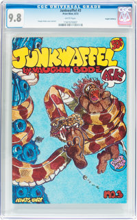Junkwaffel #3 Haight-Ashbury pedigree (Print Mint, 1972) CGC NM/MT 9.8 White pages
