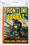Golden Age (1938-1955):War, Frontline Combat #9 Gaines File pedigree 9/10 (EC, 1952) CBCS NM-9.2 Off-white to white pages....