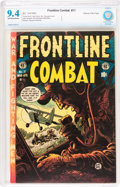 Golden Age (1938-1955):War, Frontline Combat #11 Gaines File pedigree 9/11 (EC, 1953) CBCS NM9.4 Off-white to white pages....
