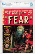 Golden Age (1938-1955):Horror, Haunt of Fear #22 Gaines File pedigree (EC, 1953) CBCS NM- 9.2White pages....
