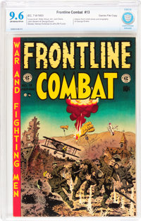 Frontline Combat #13 Gaines File pedigree 11/12 (EC, 1953) CBCS NM+ 9.6 Off-white to white pages