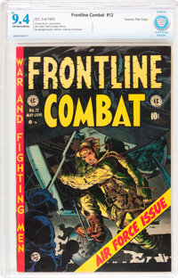 Frontline Combat #12 Gaines File pedigree 2/11 (EC, 1953) CBCS NM 9.4 Off-white to white pages