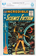 Golden Age (1938-1955):Science Fiction, Incredible Science Fiction #33 Gaines File pedigree 10/11 (EC,1956) CBCS VF+ 8.5 White pages....