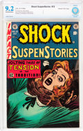 Golden Age (1938-1955):Horror, Shock SuspenStories #15 Gaines File pedigree 6/12 (EC, 1954) CBCSNM- 9.2 Off-white to white pages....