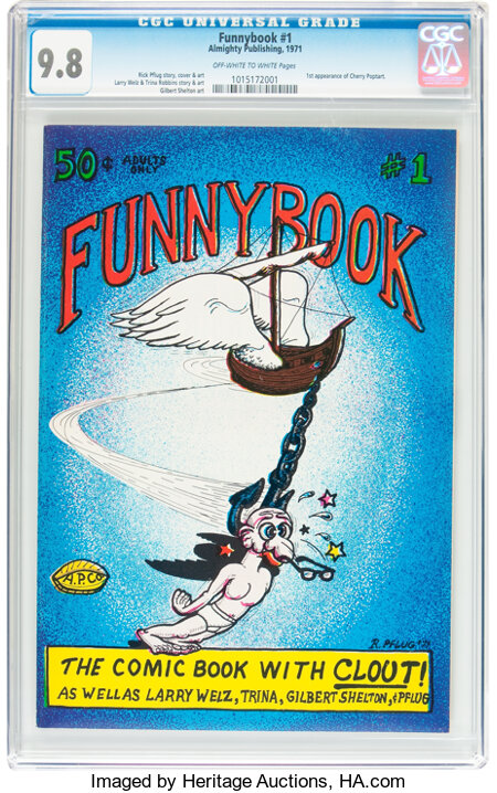 Funnybook #1 (Almighty Publishing, 1971) CGC NM/MT 9.8 Off-white to white pages....