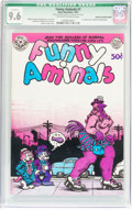 Bronze Age (1970-1979):Alternative/Underground, Funny Aminals #1 Cover Missing Yellow (Apex Novelties, 1972) CGC Qualified NM+ 9.6 Off-white to white....