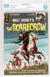 Scarecrow of Romney Marsh #1 (Gold Key, 1964) CBCS NM/MT 9.8 Off-white to white pages