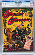 Golden Age (1938-1955):Superhero, Wonder Woman #9 (DC, 1944) CGC FN/VF 7.0 Off-white to white pages....