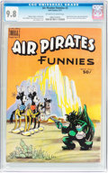 Bronze Age (1970-1979):Alternative/Underground, Air Pirates Funnies #2 (Hell Comics Group, 1971) CGC NM/MT 9.8 Off-white to white pages....