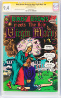 Modern Age (1980-Present):Alternative/Underground, Binky Brown Meets the Holy Virgin Mary #nn (Last Gasp, 1972) CGC Signature Series NM 9.4 Off-white to white pages....
