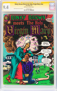 Binky Brown Meets the Holy Virgin Mary #nn (Last Gasp, 1972) CGC Signature Series NM 9.4 Off-white to white pages
