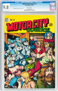 Bronze Age (1970-1979):Alternative/Underground, Motor City Comics #2 (Rip Off Press, 1970) CGC NM/MT 9.8 White pages....