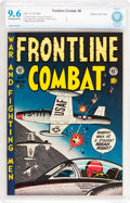 Golden Age (1938-1955):War, Frontline Combat #8 Gaines File pedigree 2/9 (EC, 1952) CBCS NM+9.6 Off-white to white pages....