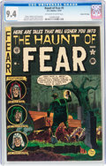 Golden Age (1938-1955):Horror, Haunt of Fear #5 Gaines File pedigree 9/9 (EC, 1951) CGC NM 9.4Off-white to white pages....